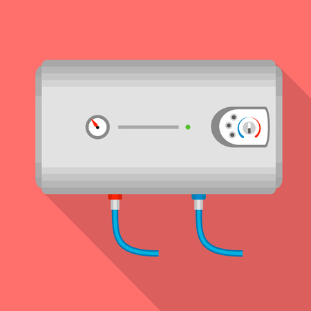Modern boiler icon. Flat illustration of modern boiler vector icon for web design 矢量图像