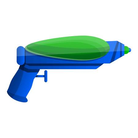 Squirt gun icon. Cartoon of squirt gun vector icon for web design isolated on white background