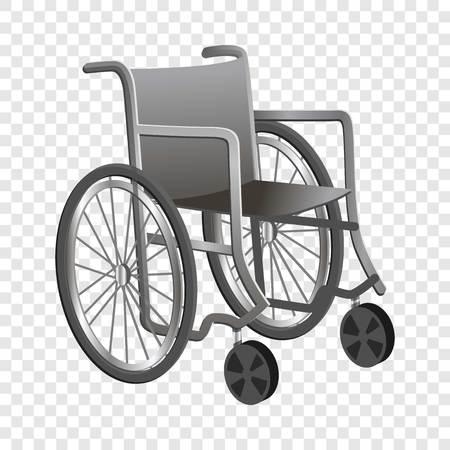 Wheelchair icon. Cartoon of wheelchair icon for web design