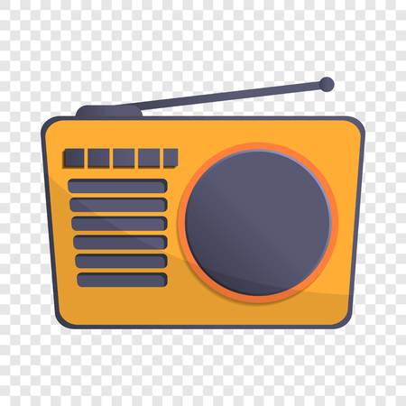 Radio antenna icon. Cartoon of radio antenna icon for web design Stock Photo