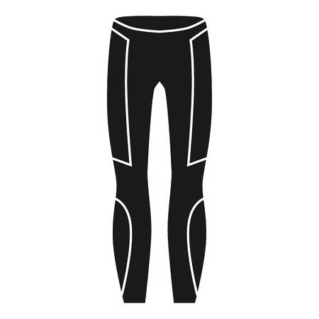 Thermal pants icon. Simple illustration of thermal pants icon for web design isolated on white background