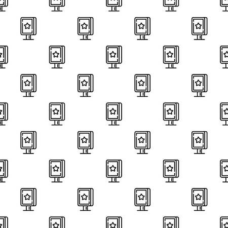 Street light box pattern seamless repeat for any web design Zdjęcie Seryjne