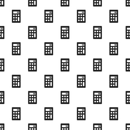 Science calculator pattern seamless repeat for any web design