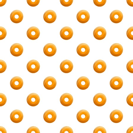 Donut cookies bakery pattern seamless repeat for any web design
