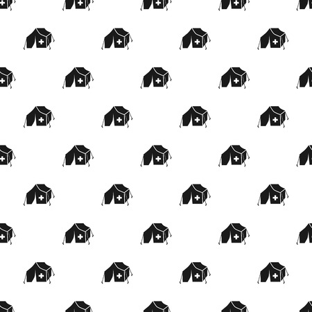 Migrant help tent pattern seamless repeat for any web design Stock fotó