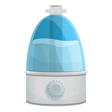 Modern humidifier icon. Cartoon of modern humidifier vector icon for web design isolated on white background