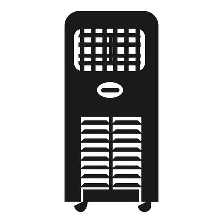 Air cleaner icon. Simple illustration of air cleaner vector icon for web design isolated on white background