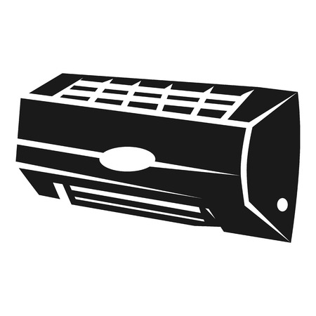 Air conditioning inside icon. Simple illustration of air conditioning inside vector icon for web design isolated on white background Vector Illustration