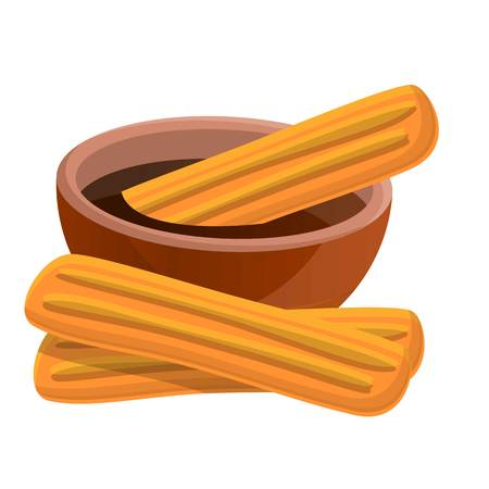 Tamales icon. Cartoon of tamales vector icon for web design isolated on white background