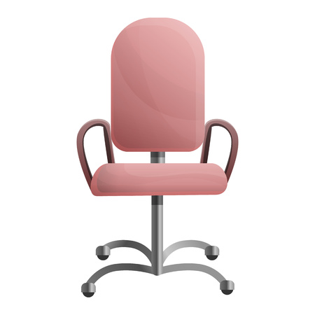 Office modern chair icon. Cartoon of office modern chair vector icon for web design isolated on white background