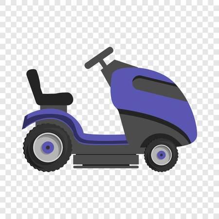 Truck grass cut icon. Cartoon of truck grass cut vector icon for web design for web design