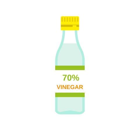 70 percent vinegar icon. Flat illustration of 70 percent vinegar vector icon for web design Imagens - 124443979