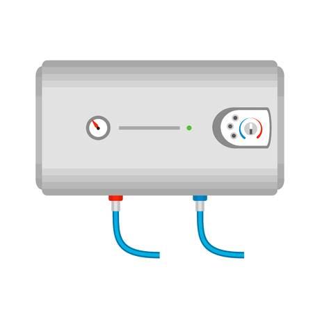 Modern boiler icon. Flat illustration of modern boiler vector icon for web design Illustration