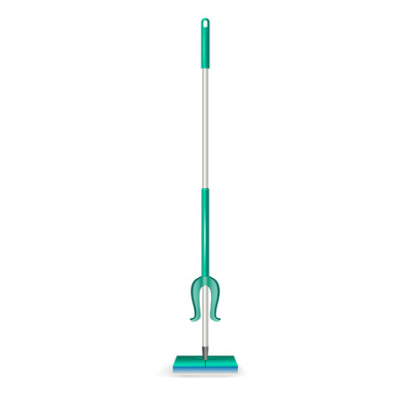 Mop icon. Realistic illustration of mop vector icon for web design isolated on white background
