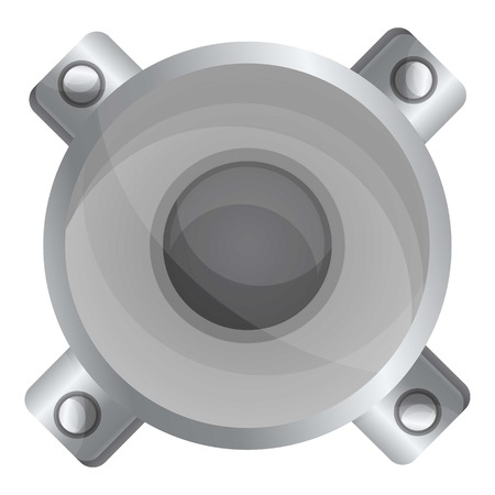 Car releaser icon. Cartoon of car releaser vector icon for web design isolated on white background