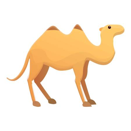 Camel icon. Cartoon of camel vector icon for web design isolated on white background