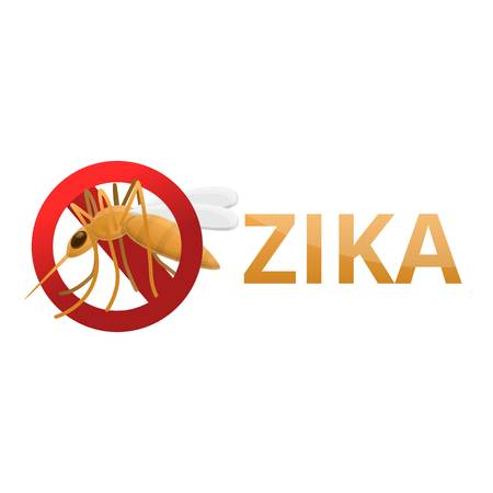 Zika icon. Cartoon of zika vector icon for web design isolated on white background