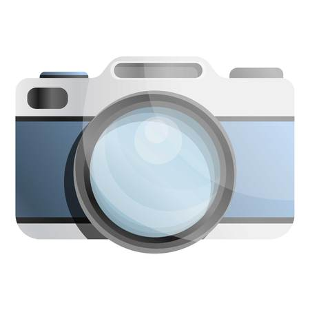 Old camera icon. Cartoon of old camera vector icon for web design isolated on white background