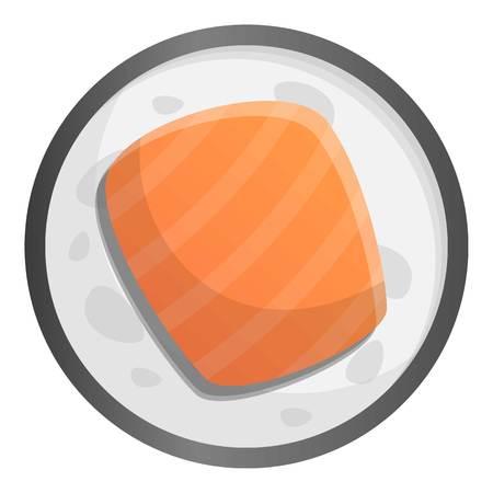 Japan sushi icon. Cartoon of japan sushi icon for web design isolated on white background