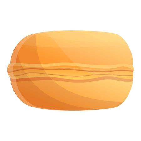 Cream macaroon icon. Cartoon of cream macaroon icon for web design isolated on white background Reklamní fotografie