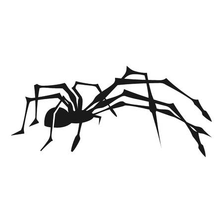 Pest spider icon. Simple illustration of pest spider icon for web design isolated on white background Banco de Imagens