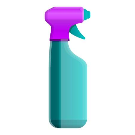 Cleaning spray bottle icon. Cartoon of cleaning spray bottle icon for web design isolated on white background