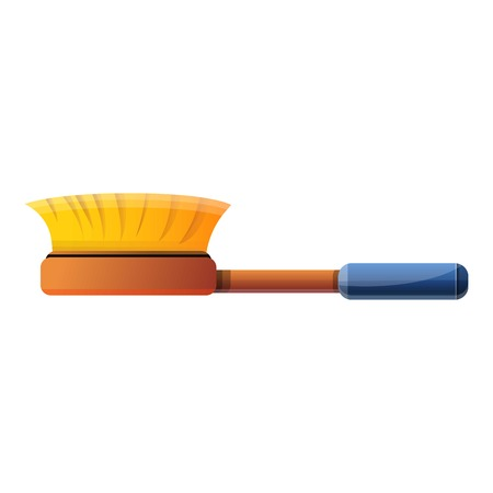 Clean brusher icon. Cartoon of clean brusher icon for web design isolated on white background