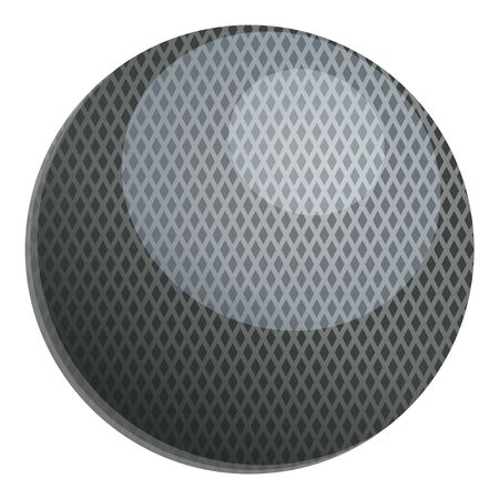 Croquet ball icon. Cartoon of croquet ball vector icon for web design isolated on white background Banque d'images - 124579169