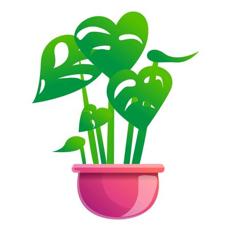 Houseplant icon. Cartoon of houseplant vector icon for web design isolated on white background