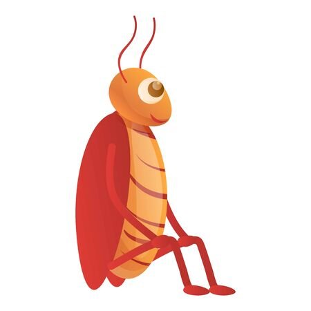 Cockroach stay icon. Cartoon of cockroach stay vector icon for web design isolated on white background