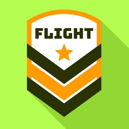 Star flight logo. Flat illustration of star flight logo for web design Banque d'images - 127183076
