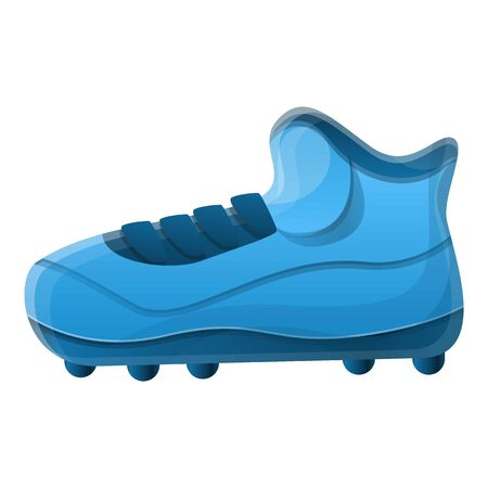 American football shoe spike icon. Cartoon of american football shoe spike icon for web design isolated on white background