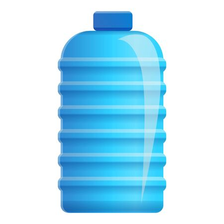Office water bottle icon. Cartoon of office water bottle vector icon for web design isolated on white background