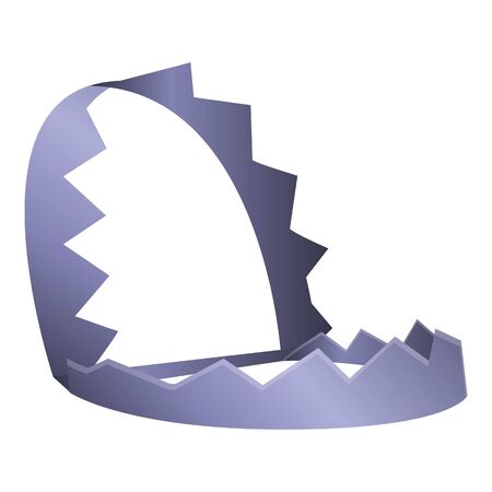 Animal metal trap icon. Cartoon of animal metal trap vector icon for web design isolated on white background Archivio Fotografico - 129084945
