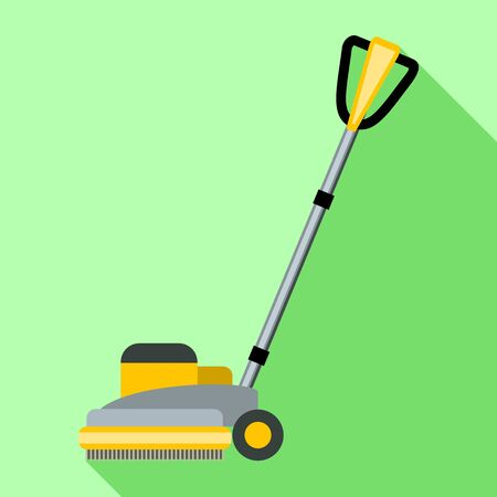 Wheel mop icon. Flat illustration of wheel mop vector icon for web design Ilustrace