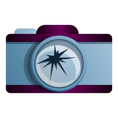 Broken camera icon. Cartoon of broken camera vector icon for web design isolated on white background