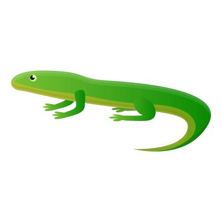 Exotic lizard icon. Cartoon of exotic lizard icon for web design isolated on white background
