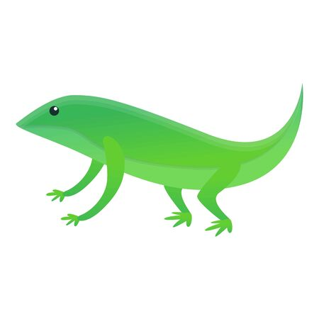 Home lizard icon. Cartoon of home lizard icon for web design isolated on white background