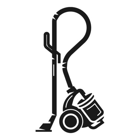 Power vacuum cleaner icon. Simple illustration of power vacuum cleaner icon for web design isolated on white background Reklamní fotografie