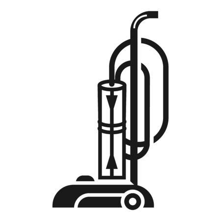 Storage vacuum cleaner icon. Simple illustration of storage vacuum cleaner icon for web design isolated on white background Stok Fotoğraf