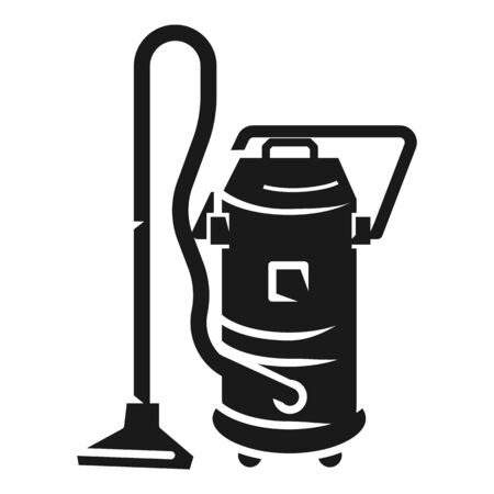 Service vacuum cleaner icon. Simple illustration of service vacuum cleaner icon for web design isolated on white background 版權商用圖片