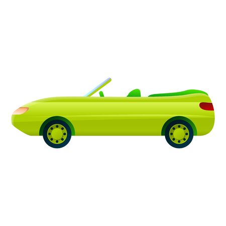Modern cabriolet icon. Cartoon of modern cabriolet icon for web design isolated on white background