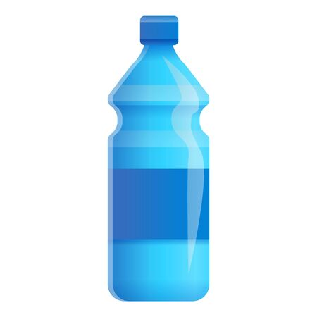 Water bottle icon. Cartoon of water bottle icon for web design isolated on white background Stock fotó
