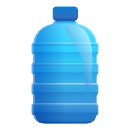 Natural aqua bottle icon. Cartoon of natural aqua bottle icon for web design isolated on white background Stock fotó - 132325878