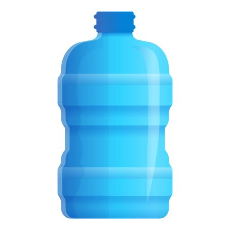 Healthy aqua bottle icon. Cartoon of healthy aqua bottle icon for web design isolated on white background Stock fotó - 132325686
