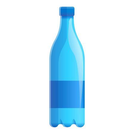 Freshness aqua bottle icon. Cartoon of freshness aqua bottle icon for web design isolated on white background Stock fotó - 132325863