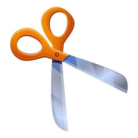 Scissors icon. Cartoon of scissors vector icon for web design isolated on white background 일러스트