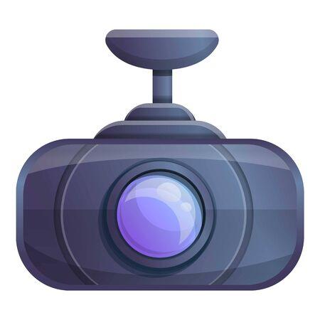Modern dvr camera icon. Cartoon of modern dvr camera vector icon for web design isolated on white background Illusztráció
