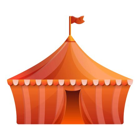 Circus icon. Cartoon of circus vector icon for web design isolated on white background