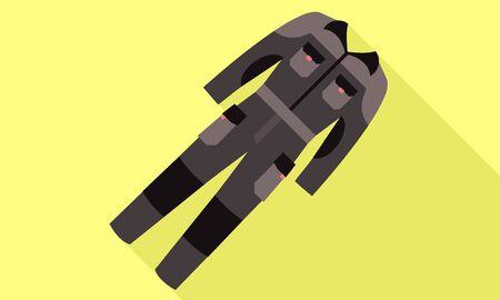 Workwear icon. Flat illustration of workwear icon for web design Stok Fotoğraf